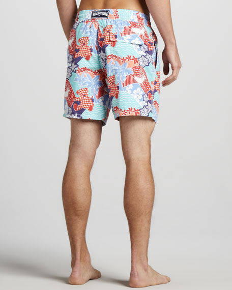 Moorea Holiday Swim Trunks