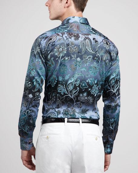 Paisley/Floral Sport Shirt