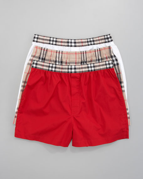 Check-Waist Boxers Boxed Set