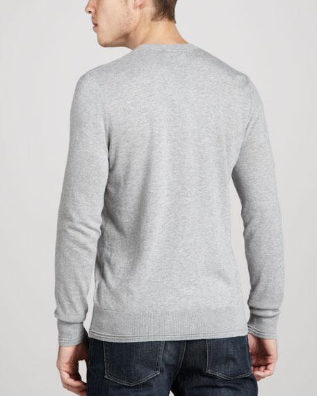 Check-Print Sweater