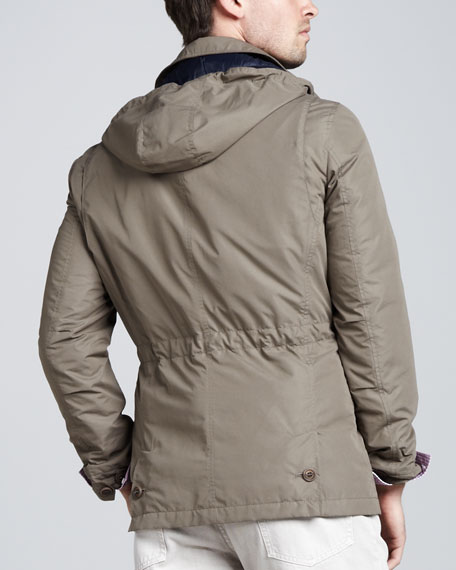 Short Safari Rain Coat