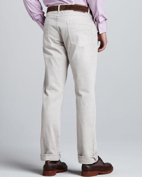 Slim Jeans, Oatmeal