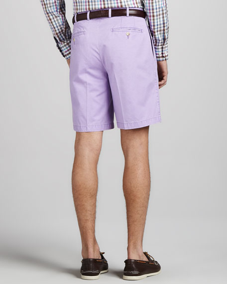 Winston Washed Twill Shorts, Royal Purple