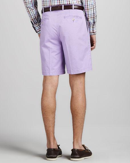 Winston Washed Twill Shorts, Royal Purple
