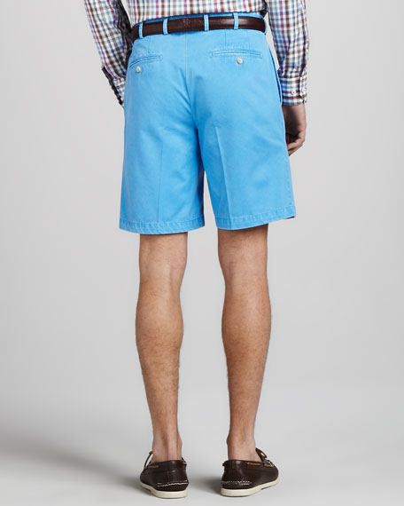 Winston Washed Twill Shorts, French Blue