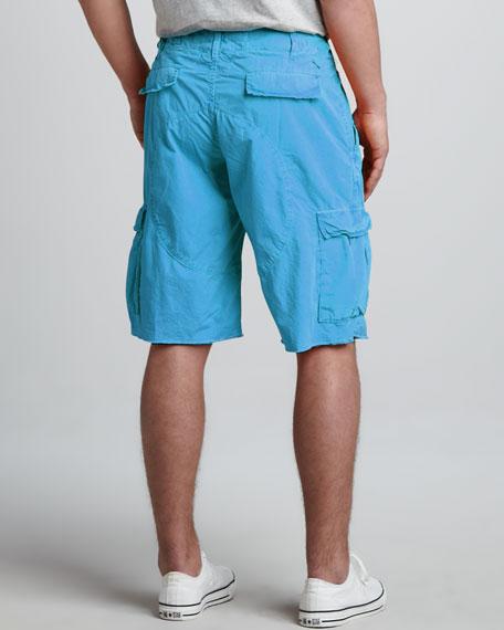 Oxnard Cargo Shorts, Blue Jay
