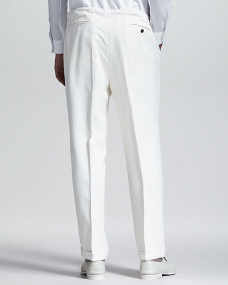 Drawstring Dress Pants