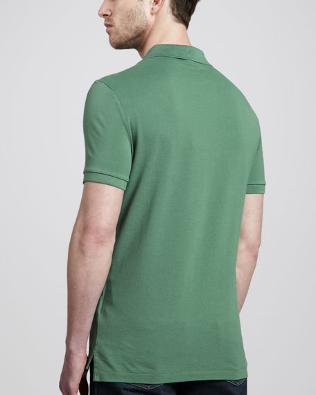 Equestrian Knight Polo, Tourmaline Green