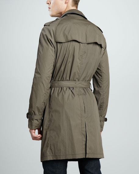 Nylon Trenchcoat