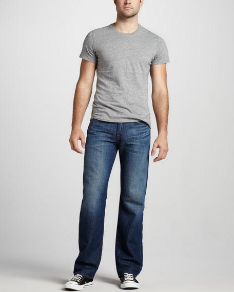 Austyn Relaxed Cotton-Linen Jeans