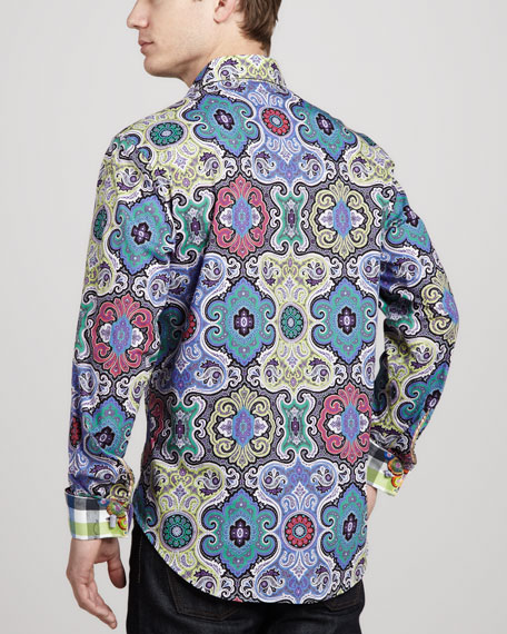 Twist Kaleidoscope Sport Shirt