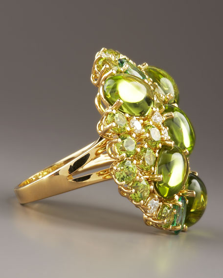 Fireworks Ring, Green
