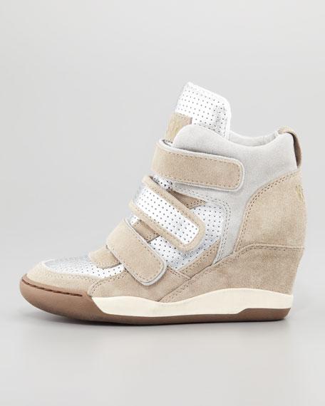 Alex 3-Tone Sneaker, Neutral Pattern