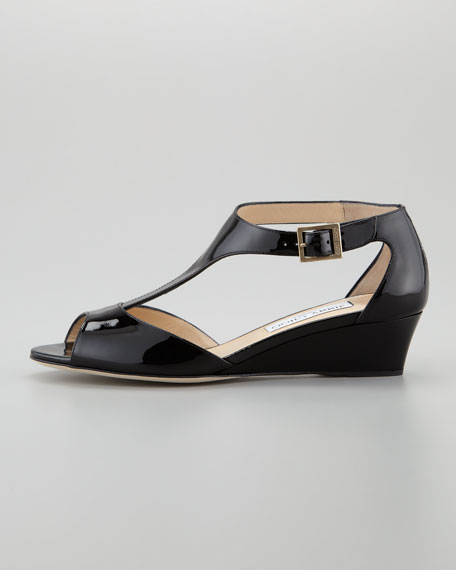 Treat T-Strap Micro Wedge Sandal