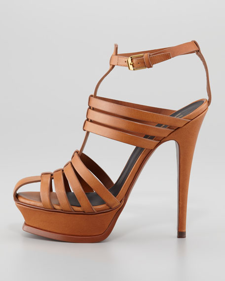 Tribute T-Strap Caged Sandal