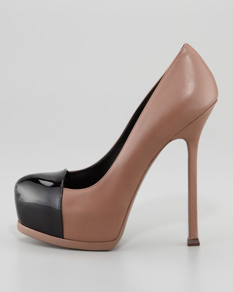 Tribute Two Two-Tone Platform Pump