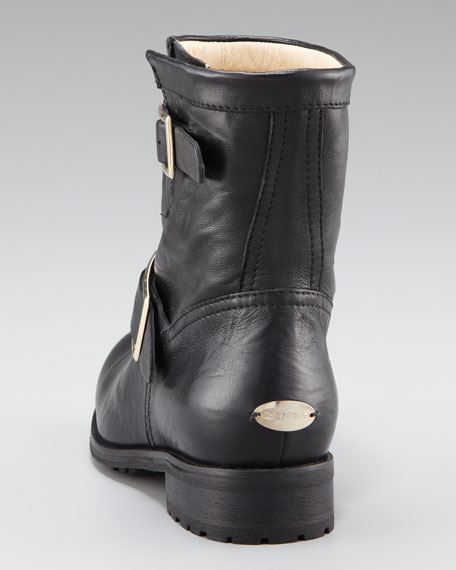 Youth Biker Ankle Boot