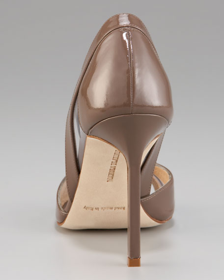Scanti Patent d'Orsay, Taupe