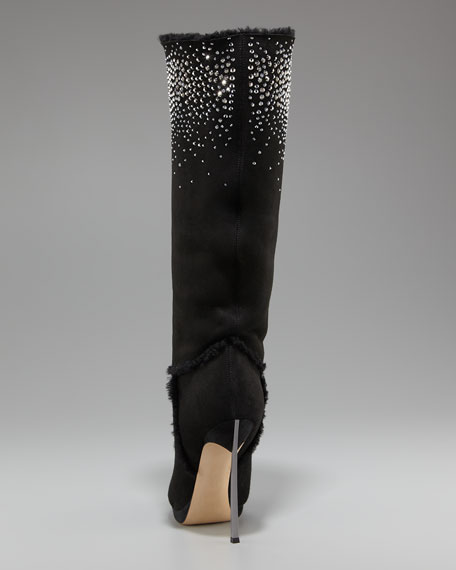 Crystallized Knee Boot
