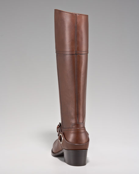 Ankle-Strap Riding Boot
