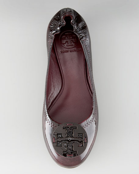 Reva Patent-Leather Flat