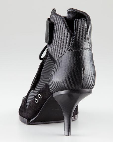 Nimue Lace-Up Mesh Sandal