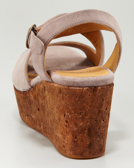 Morphos Cork Wedge