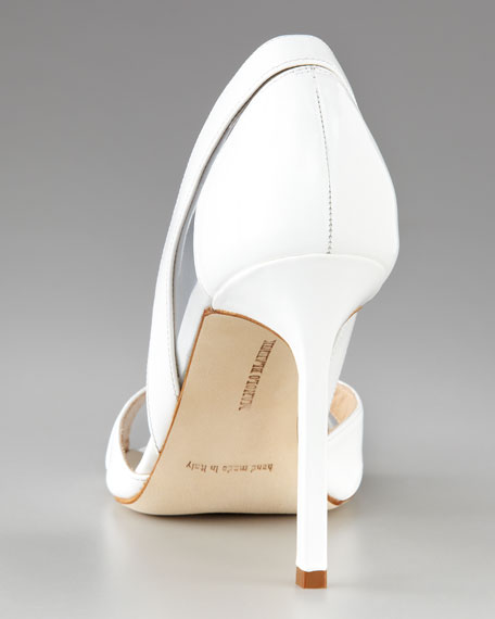 Nsanti Patent d'Orsay, White