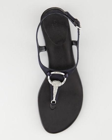 Strass Bit Thong Sandal