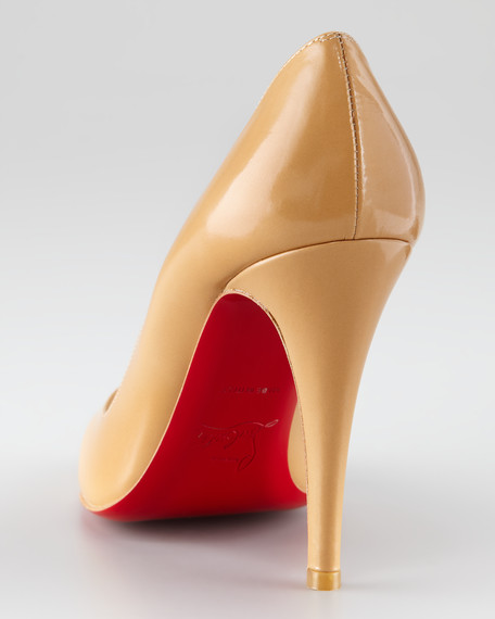 Decolette Red Sole Pump