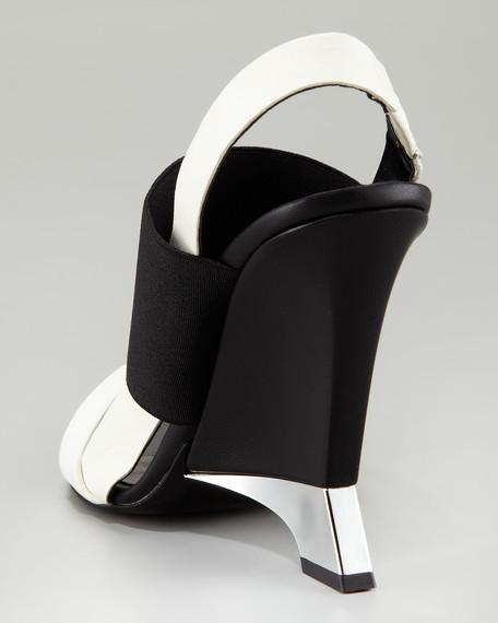Eris Sculptural Colorblock Sandal