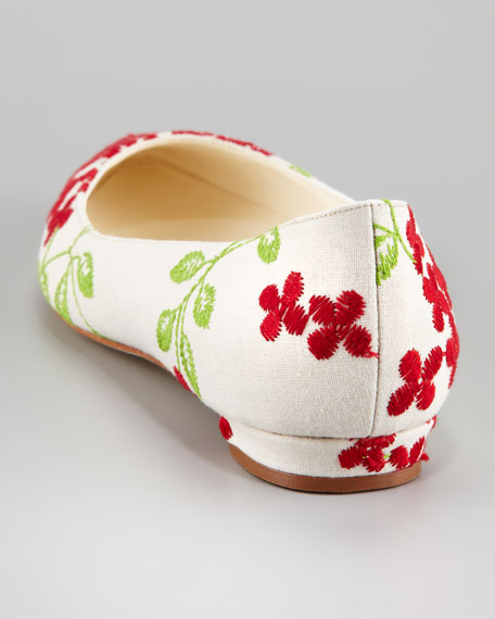 Titto Pointed-Toe Ballet Flat