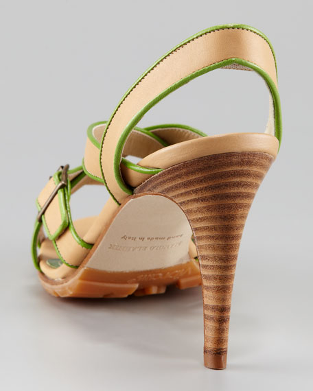 Forum Two-Tone Slingback Sandal