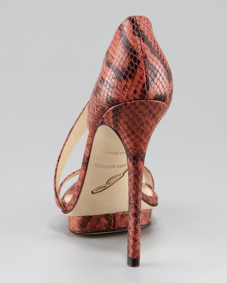 Consort 4 Python-Stamped Sandal