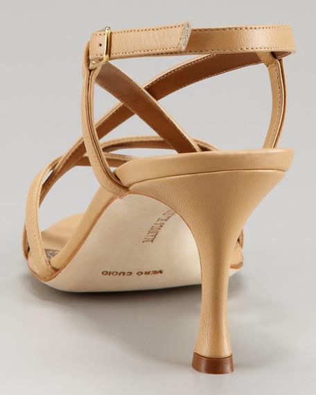 Scarsobuck Cross-Strap Sandal
