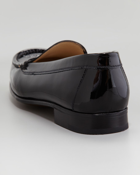 Venetian Patent Leather Moccasin