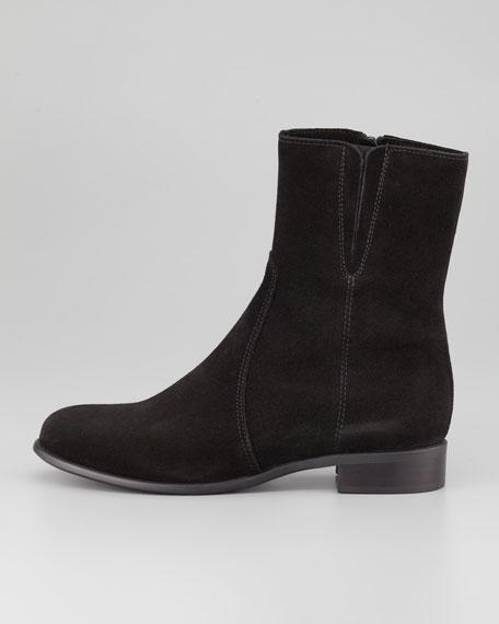 Solana Flat Bootie, Black