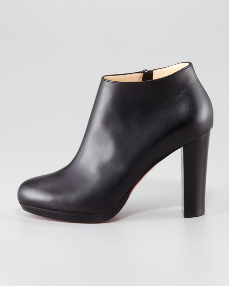 Rock Platform Red Sole Bootie