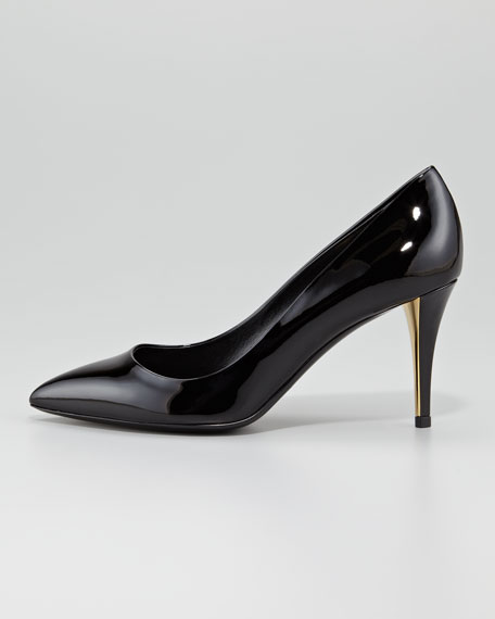 Clara Patent Leather Pump