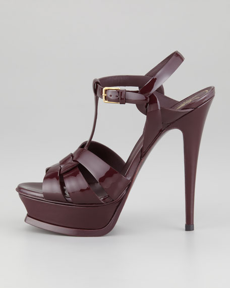 Patent Leather Tribute Sandal