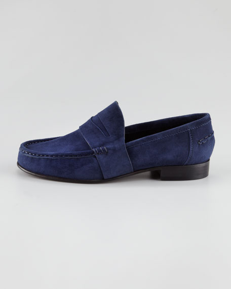 Audrey Suede Penny Loafer