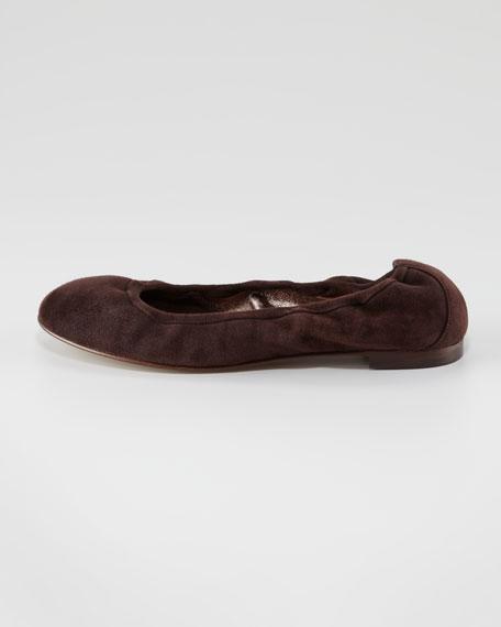 Togram Suede Ballerina Flat
