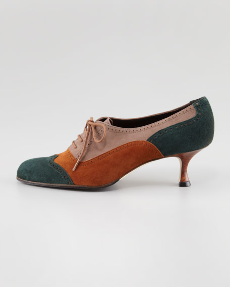 Catia Colorblock Oxford Pump