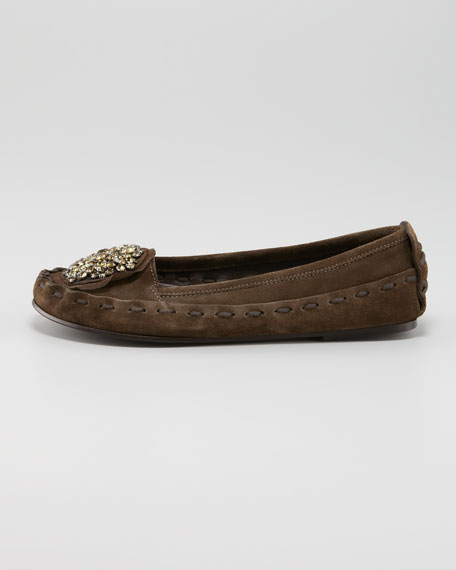 Jeweled Ornament Moccasin