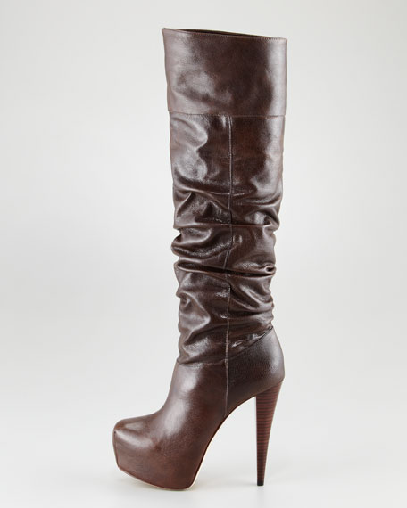 Pasha Platform Scrunch Boot