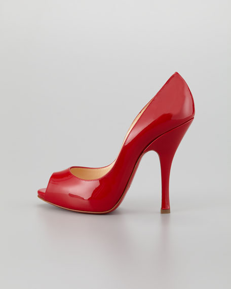 Maryl Patent Red Sole Pump