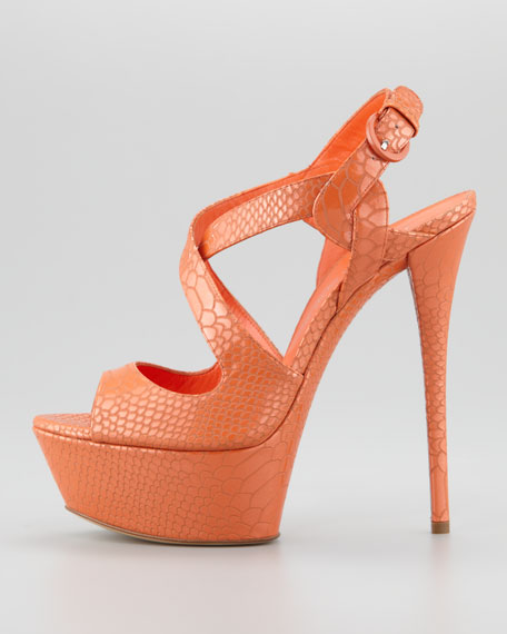 Pitondrill Platform Sandal