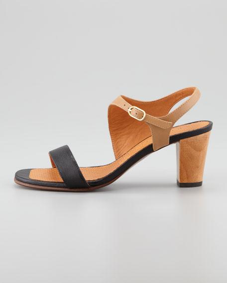 Wintour Two-Tone Sandal