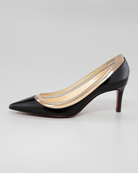 Paulina Pointed Toe Red Sole Pump