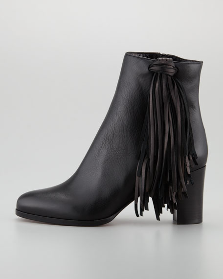 Jimmynetta Tassel Red Sole Bootie